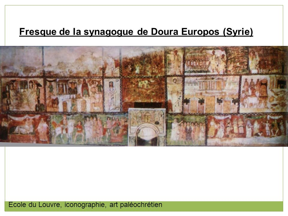 Fresque de la synagogue de Doura Europos (Syrie)