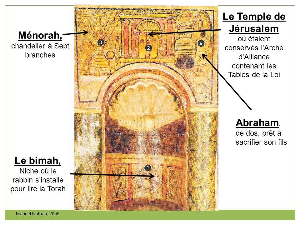 Le Temple de Jérusalem Le bimah,