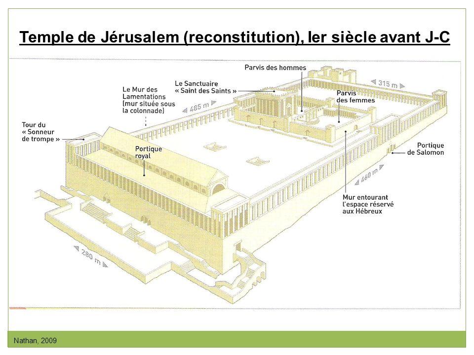 Temple de Jérusalem (reconstitution), Ier siècle avant J-C