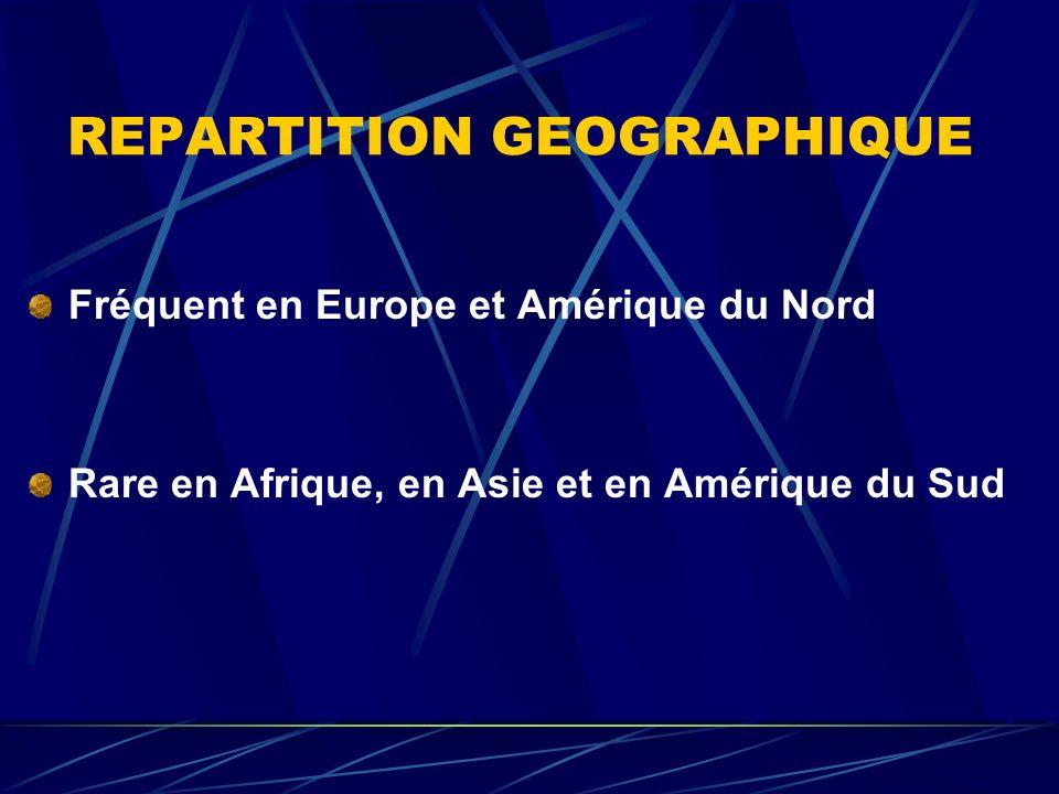 REPARTITION GEOGRAPHIQUE