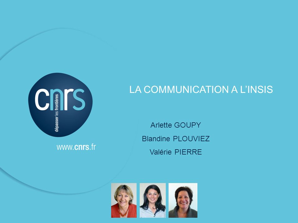 LA COMMUNICATION A L'INSIS