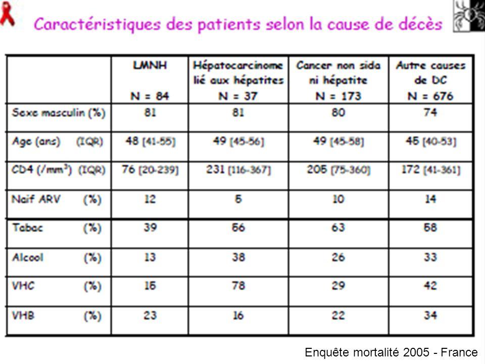 Enquête mortalité 2005 - France