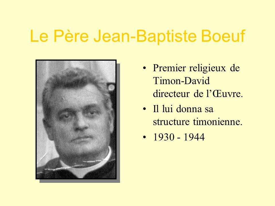 Le Père Jean-Baptiste Boeuf