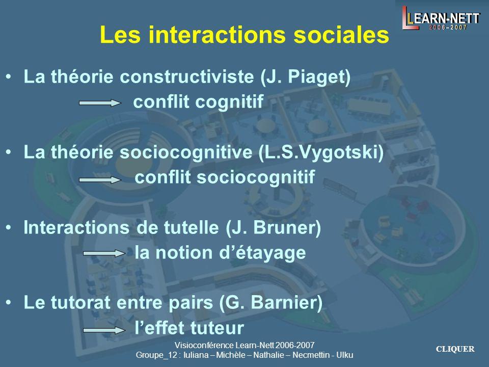 Les interactions sociales