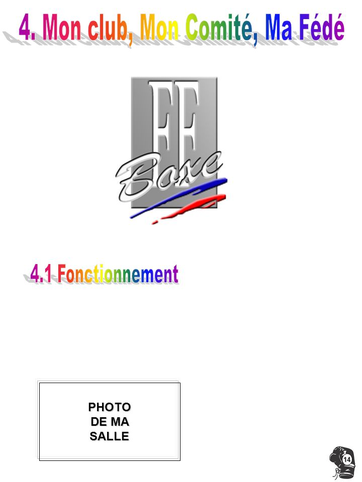 4. Mon club, Mon Comité, Ma Fédé
