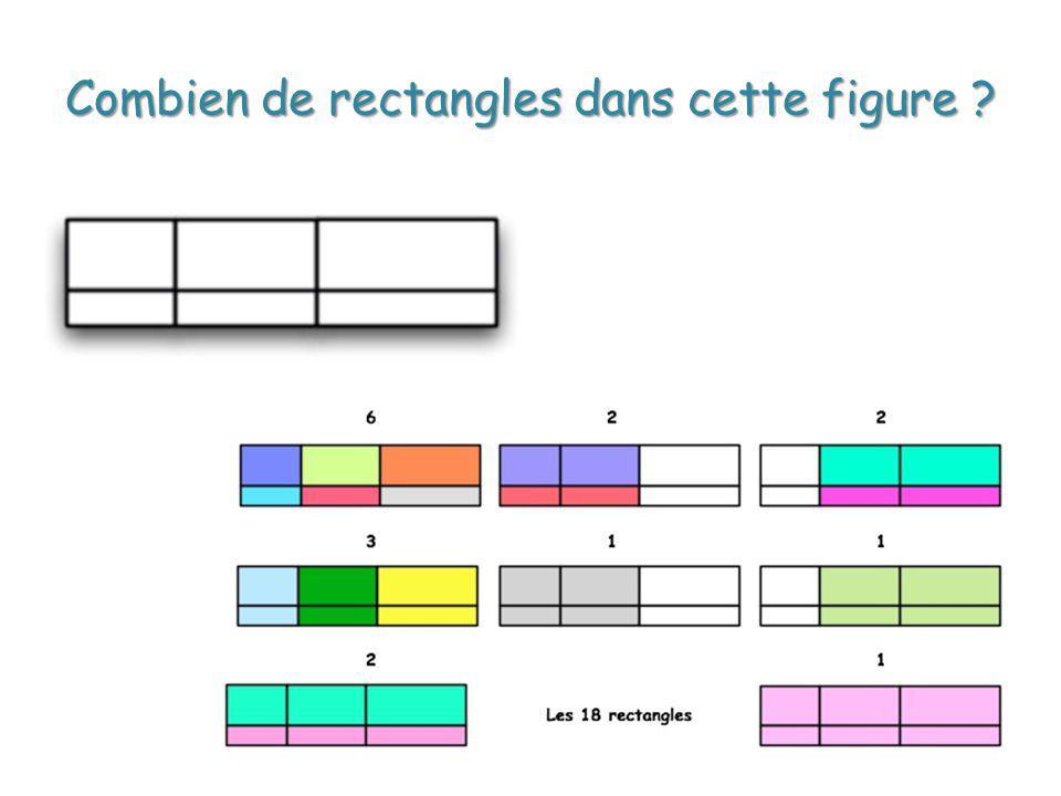 Combien de rectangles dans cette figure