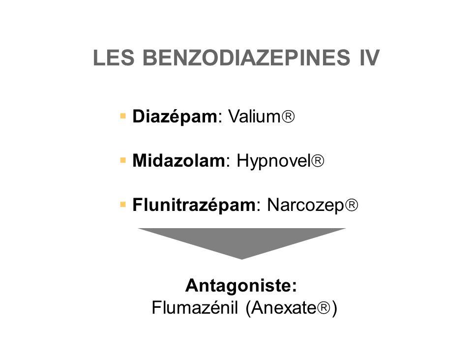 LES BENZODIAZEPINES IV