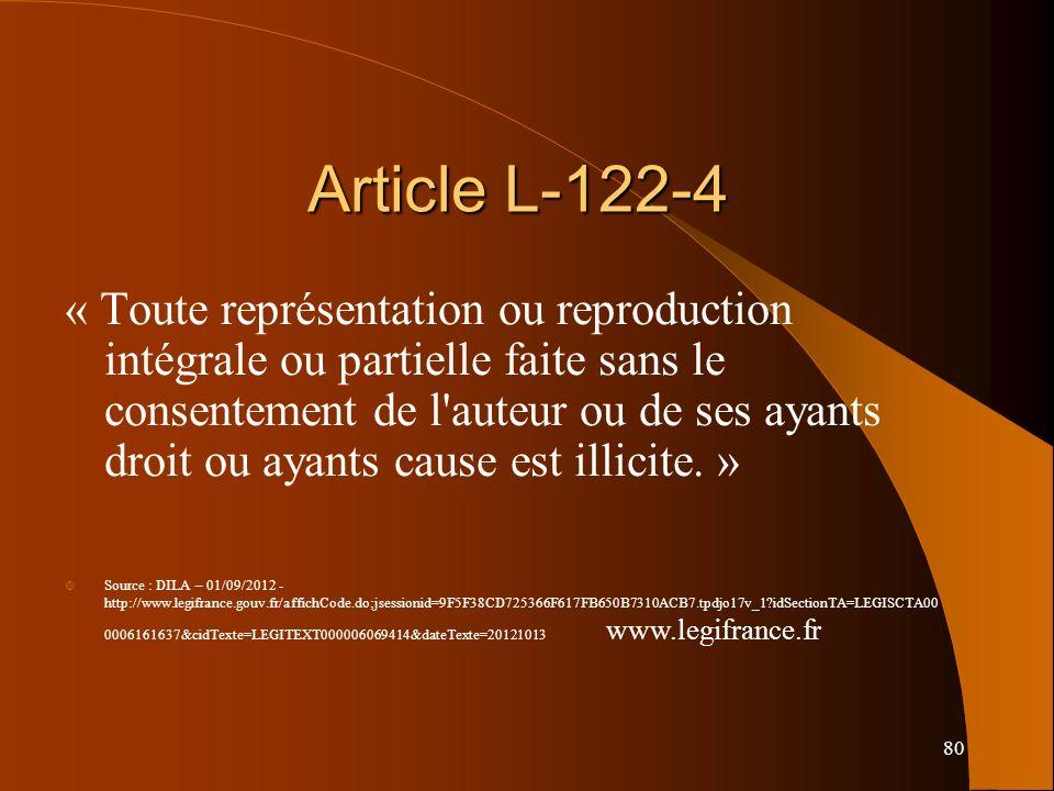 Article L-122-4