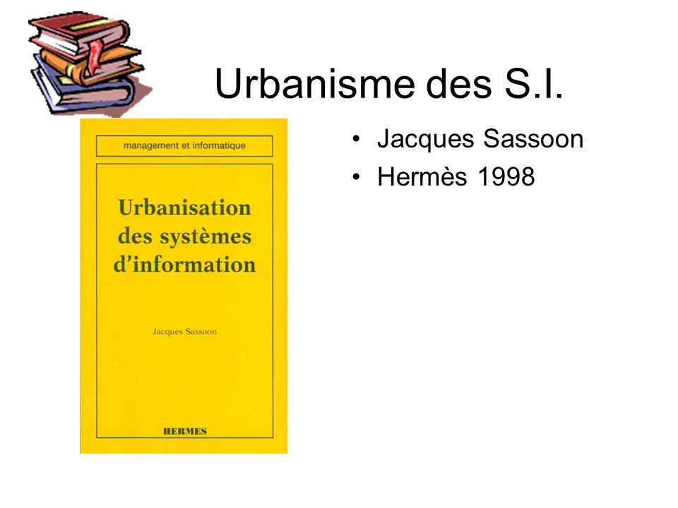 Urbanisme des S.I. Jacques Sassoon Hermès 1998