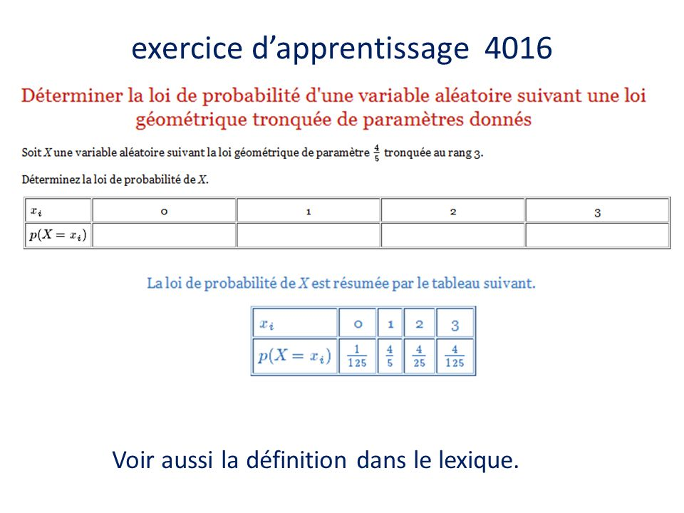 exercice d'apprentissage 4016