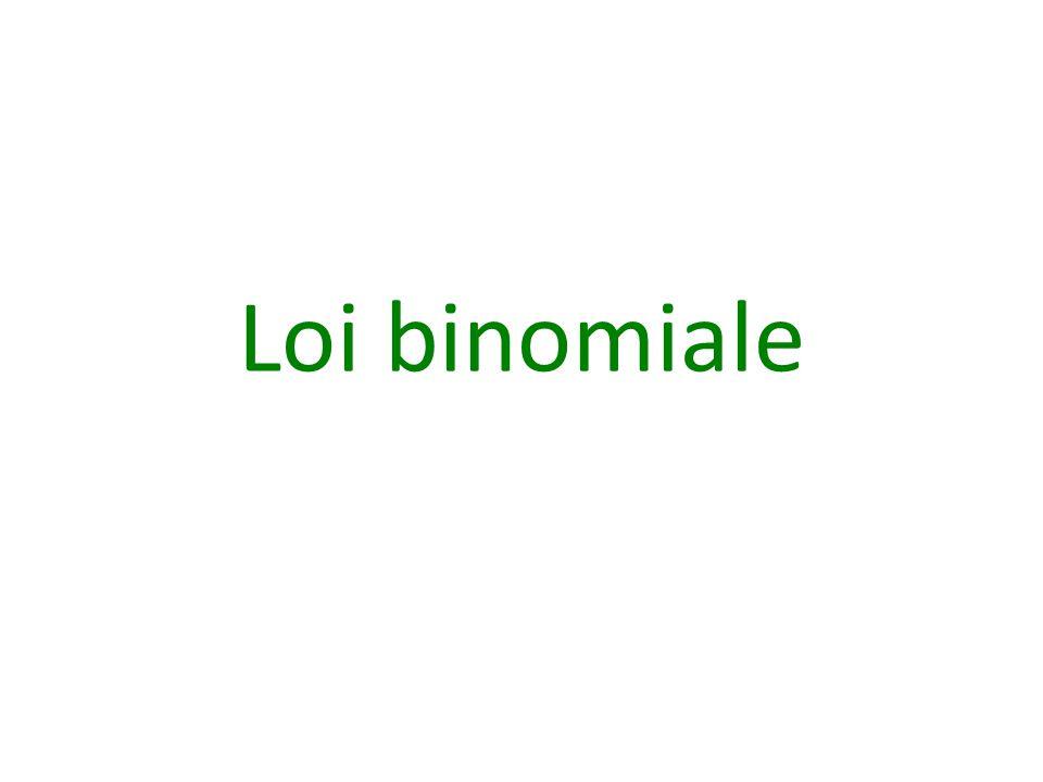 Loi binomiale