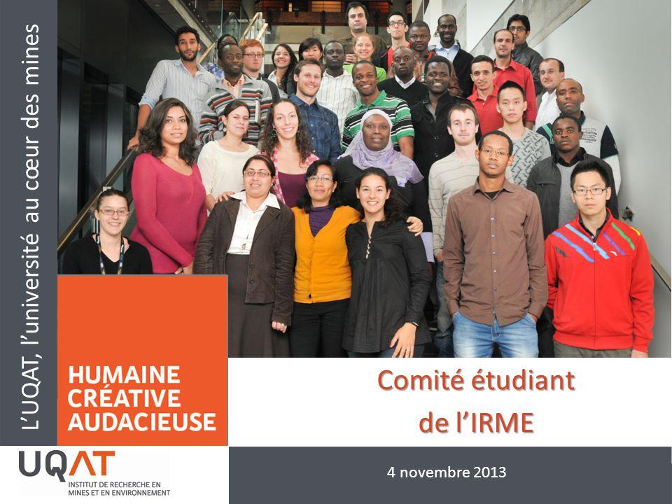 Comité étudiant de l'IRME