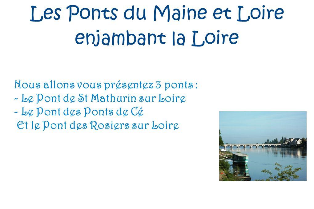 Les Ponts du Maine et Loire
