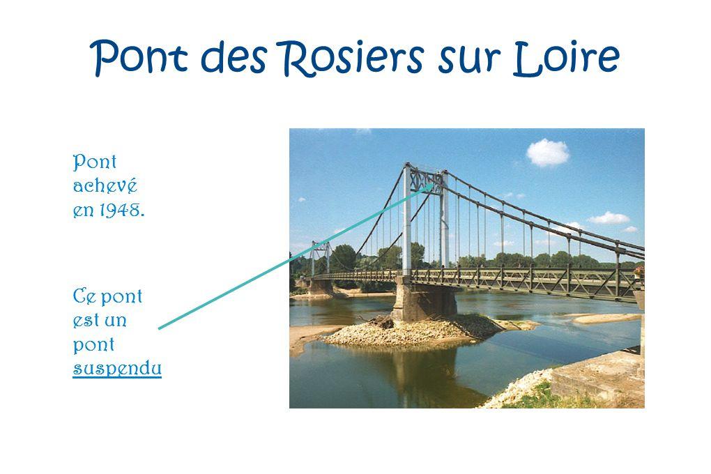 Pont des Rosiers sur Loire