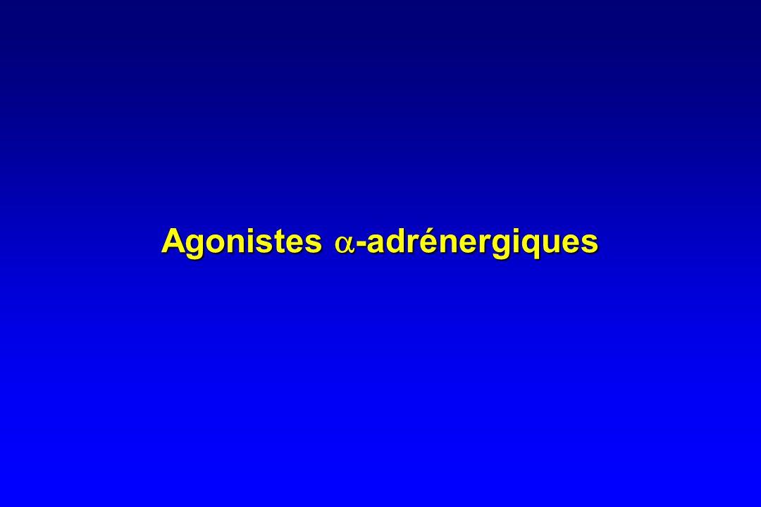 Agonistes a-adrénergiques