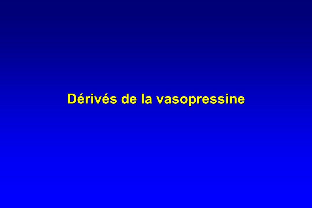 Dérivés de la vasopressine