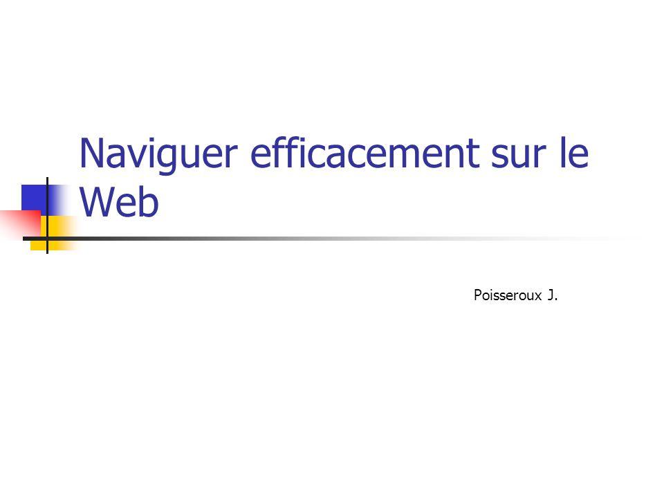 Naviguer efficacement sur le Web