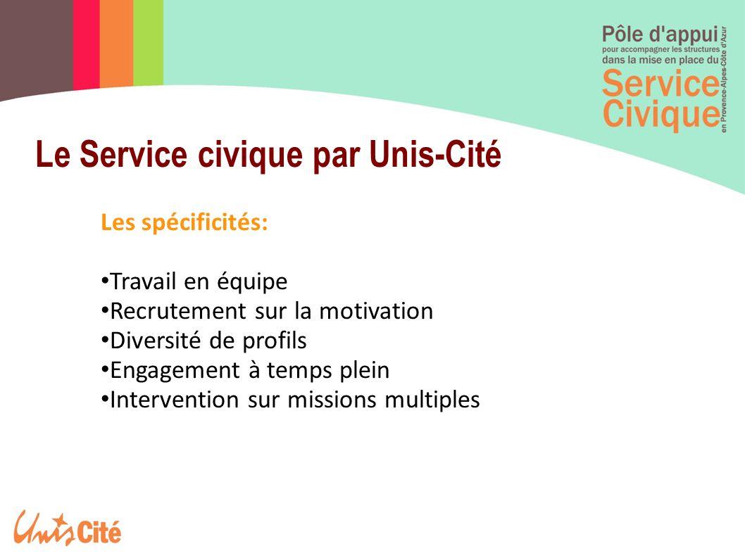 Le Service civique par Unis-Cité