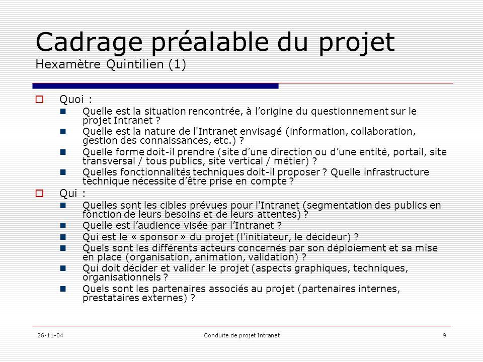 Cadrage préalable du projet Hexamètre Quintilien (1)