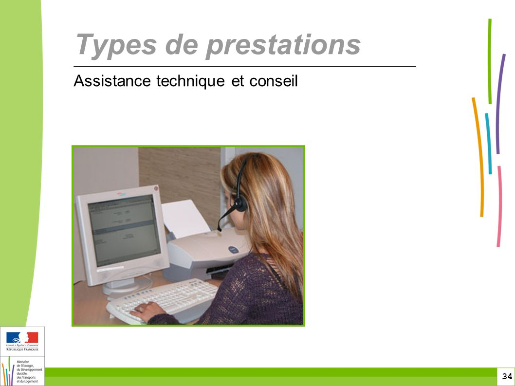 toitototototoot Types de prestations Assistance technique et conseil