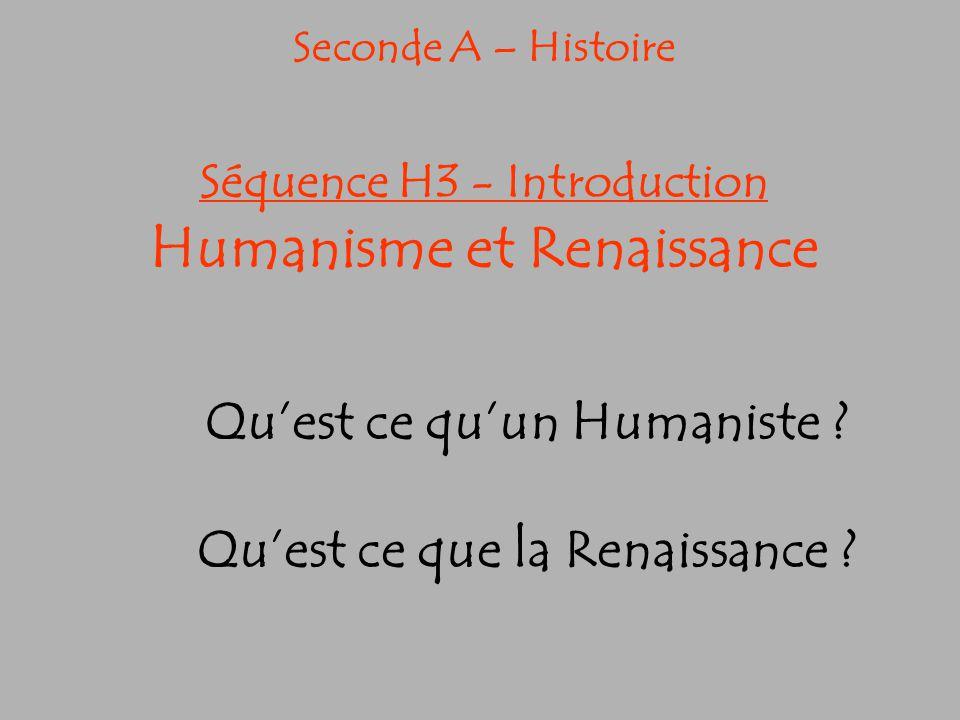 Qu'est ce qu'un Humaniste Qu'est ce que la Renaissance