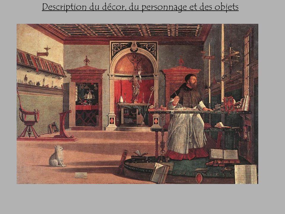 Description du décor, du personnage et des objets