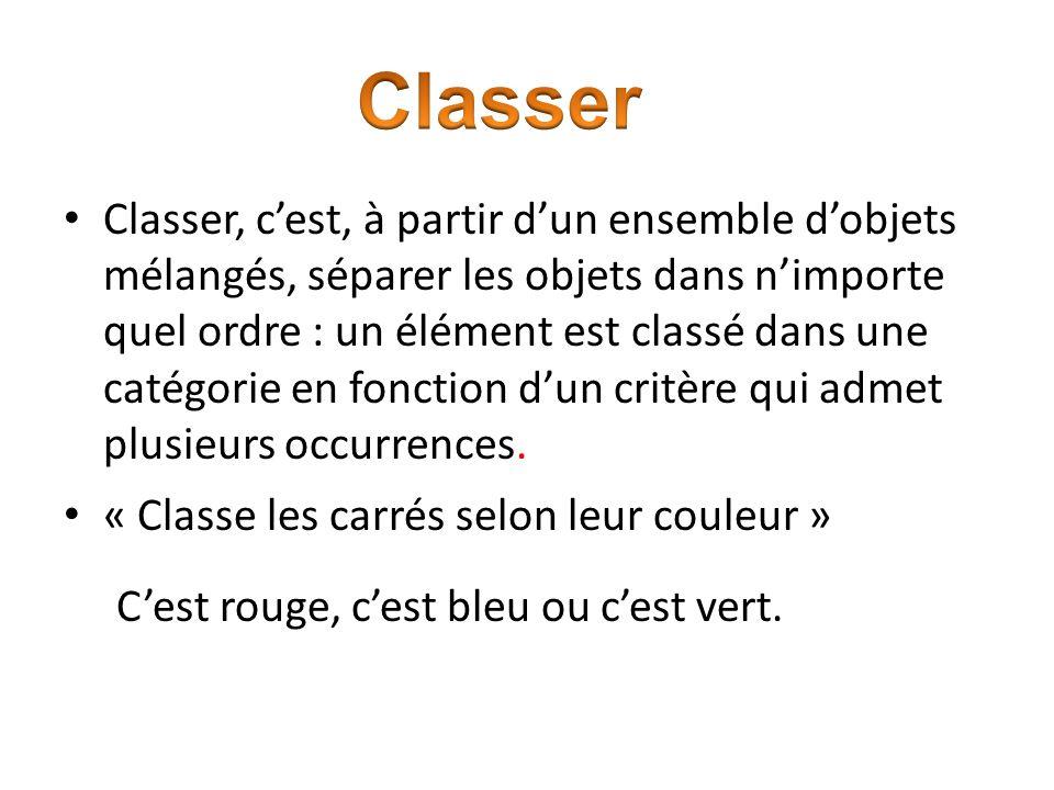Classer