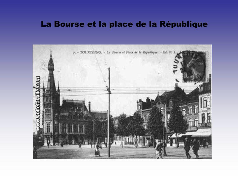 La Bourse et la place de la République