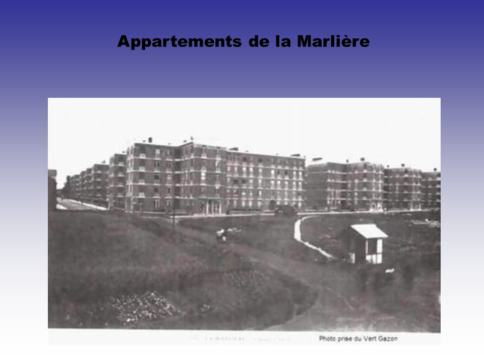 Appartements de la Marlière