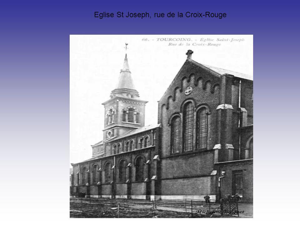 Eglise St Joseph, rue de la Croix-Rouge