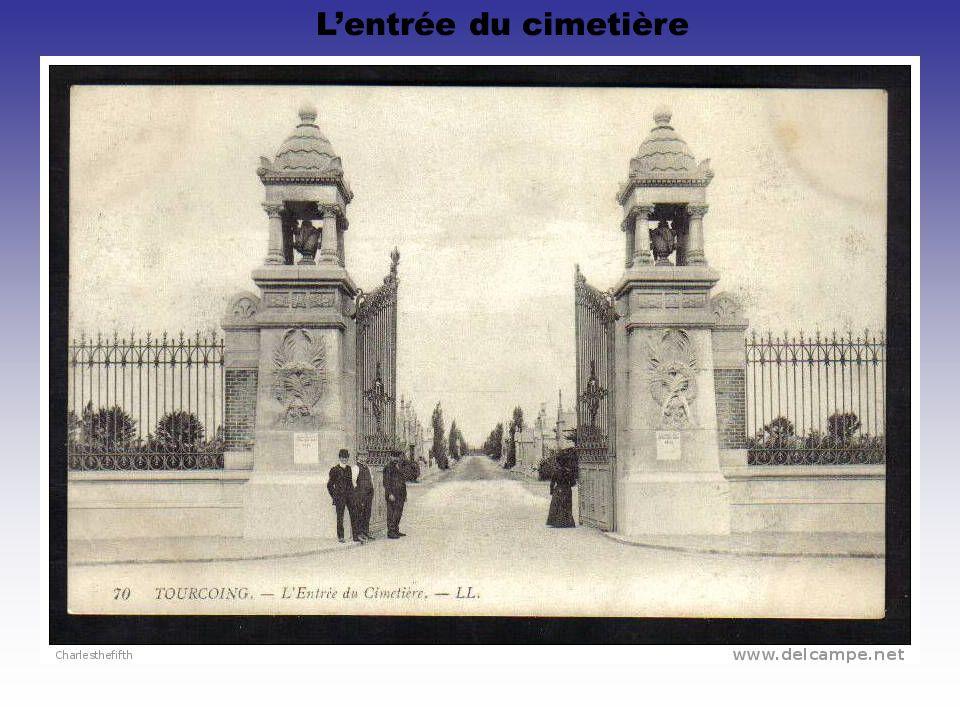L'entrée du cimetière
