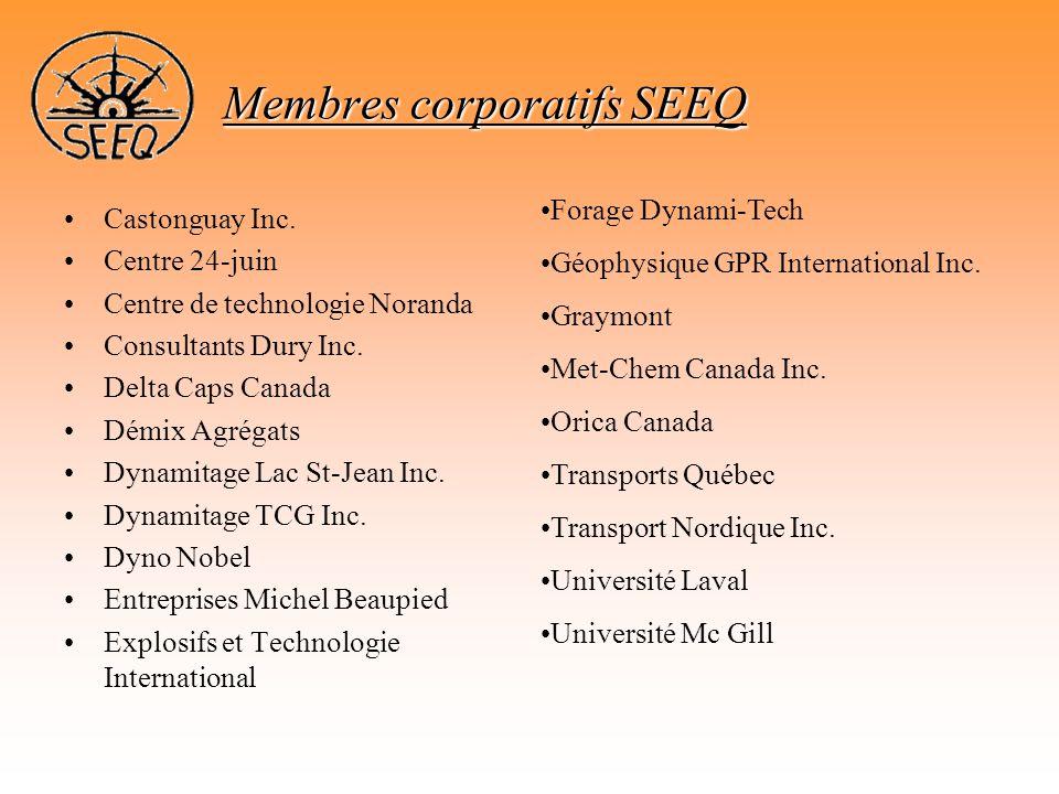 Membres corporatifs SEEQ