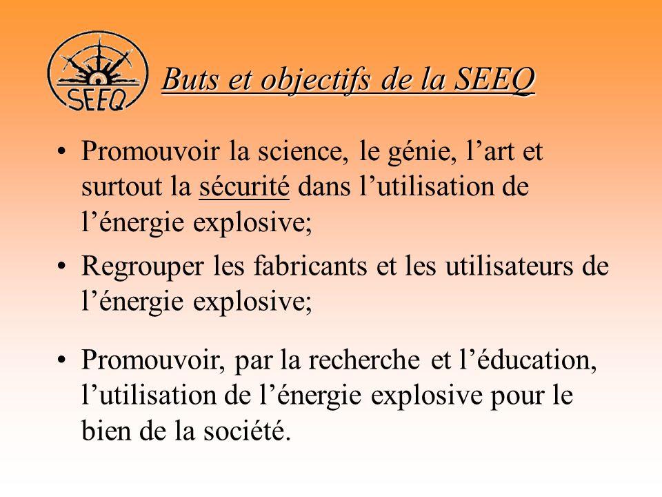 Buts et objectifs de la SEEQ