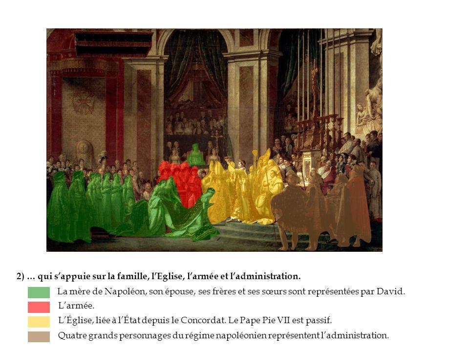 2) … qui s'appuie sur la famille, l'Eglise, l'armée et l'administration.