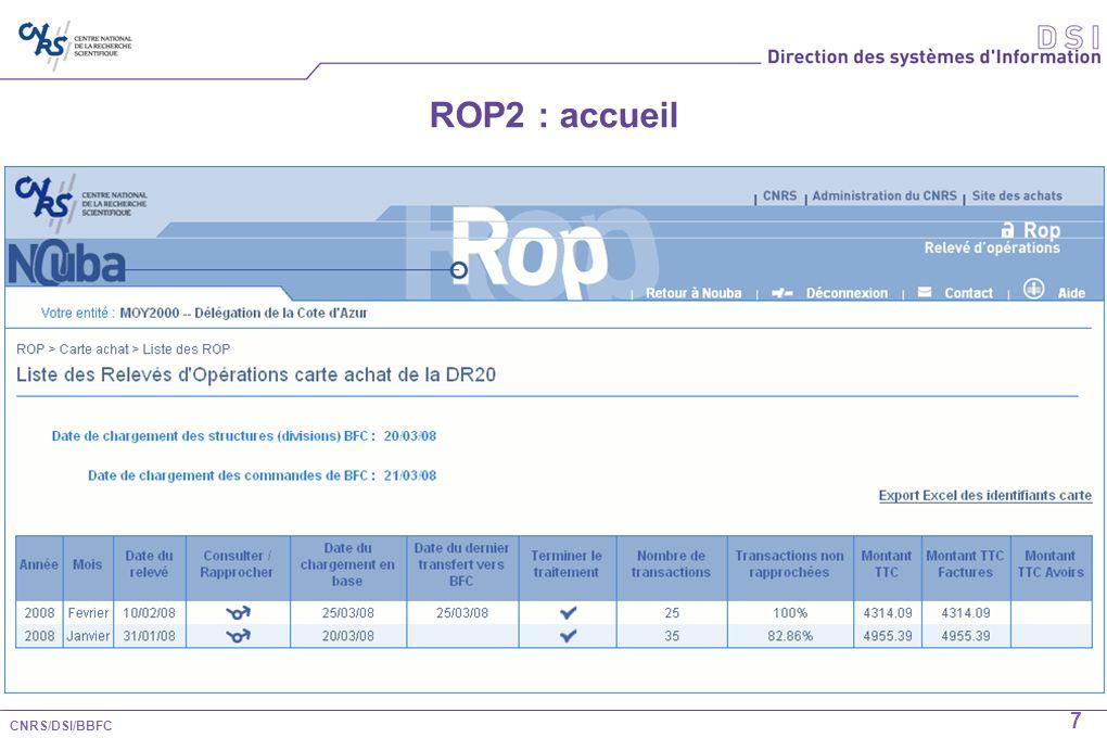 ROP2 : accueil