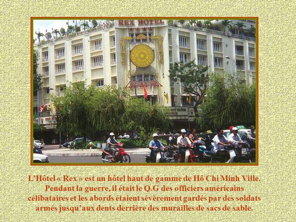 L'Hôtel « Rex » est un hôtel haut de gamme de Hô Chi Minh Ville