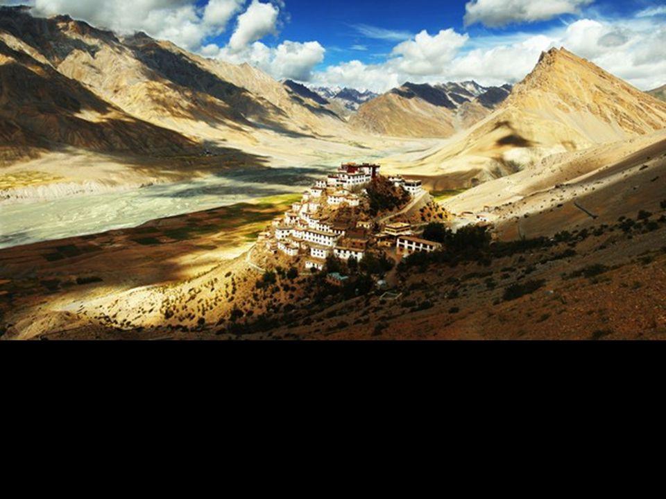 CHOIX DU PUBLIC ENDROITS Le monastère Ki , au Tibet