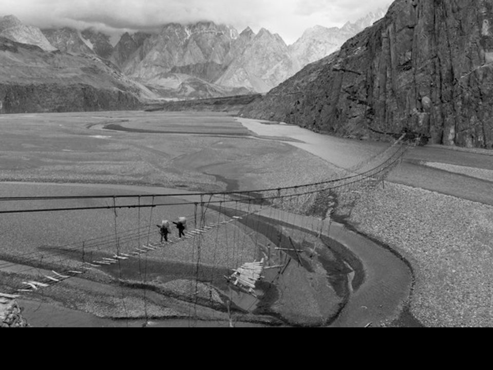 Dans la région du Cachemire, Pakistan