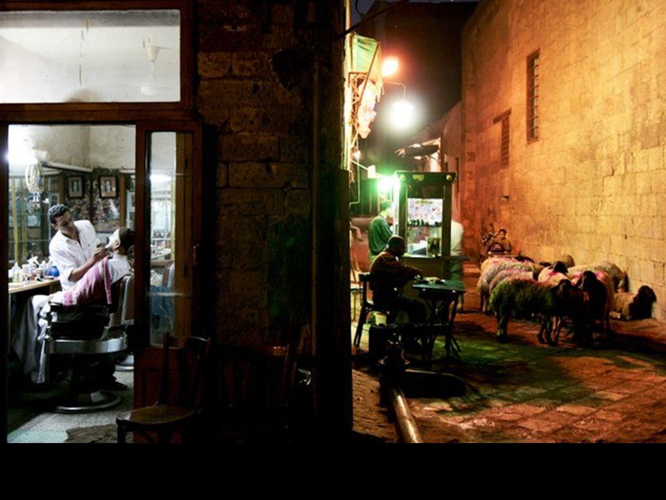 Le présent et le passé dans la Vieille ville du Caire, Égypte
