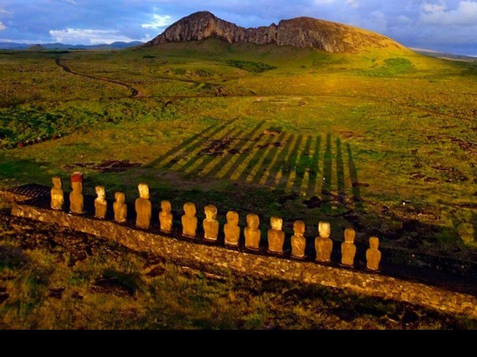 Ahu Tongariki, Ile de Pâques