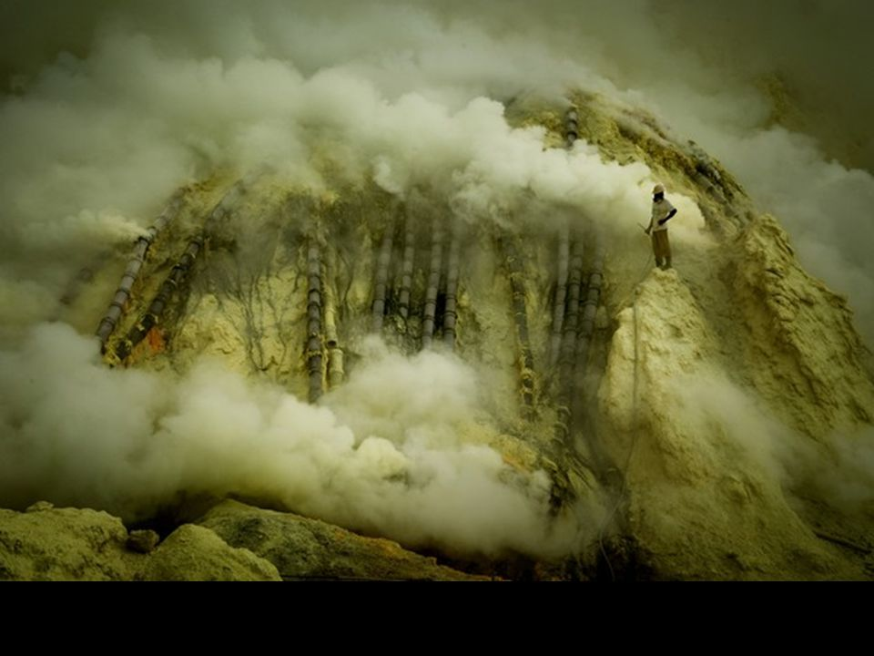 Java en Indonesie, près du volcan Ijen