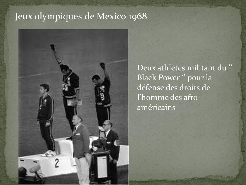 Jeux olympiques de Mexico 1968