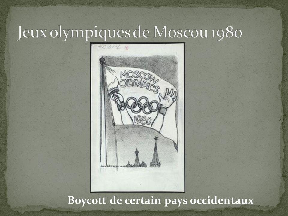 Jeux olympiques de Moscou 1980