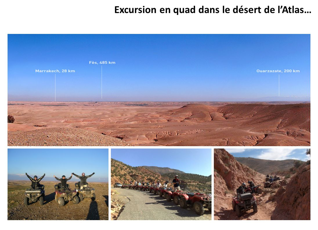 Excursion en quad dans le désert de l'Atlas…