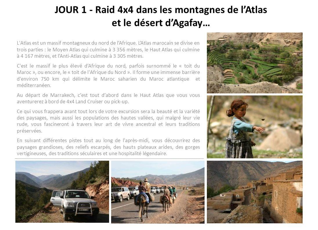 JOUR 1 - Raid 4x4 dans les montagnes de l'Atlas