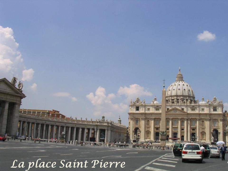 La place Saint Pierre