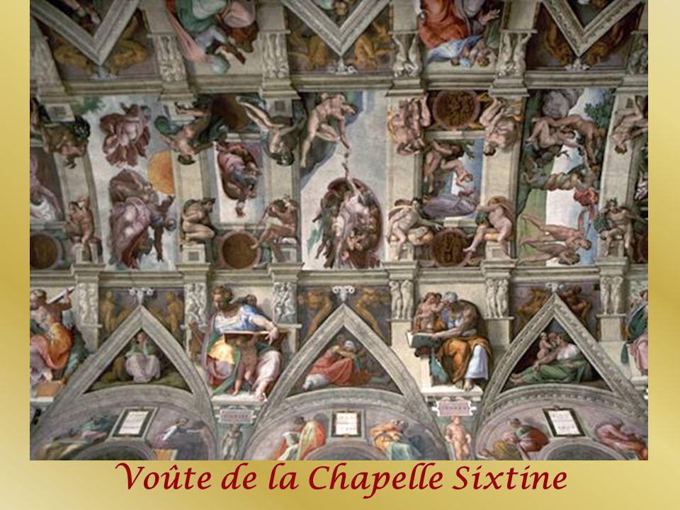 Voûte de la Chapelle Sixtine