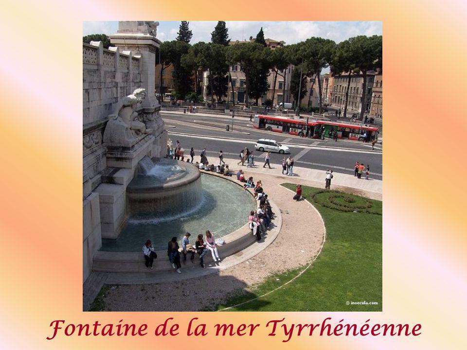Fontaine de la mer Tyrrhénéenne