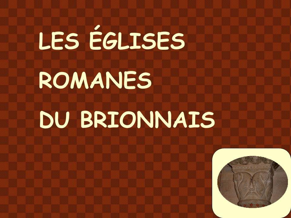 LES ÉGLISES ROMANES DU BRIONNAIS