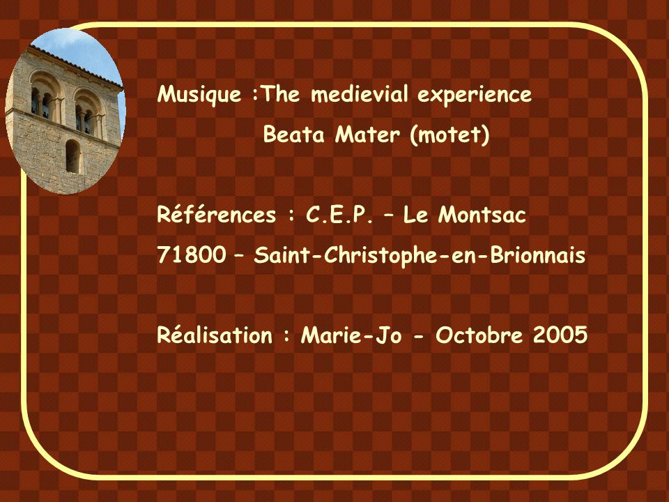 Musique :The medievial experience